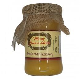 Miód mniszkowy nazywany jest miodem majowym. Pozyskiwany jest z pyłku kwiatowego z mniszka lekarskiego (mlecz polny)