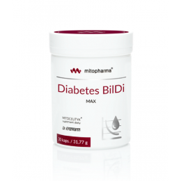 Diabetes Bildi MAX 30 kaps....