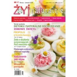 """Czasopismo """"Żyj Naturalnie"""" marzec kwiecień 2020 numer 17"""