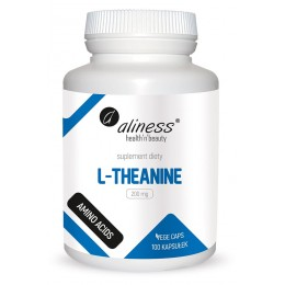 L-Theanine 200mg 100 kaps.