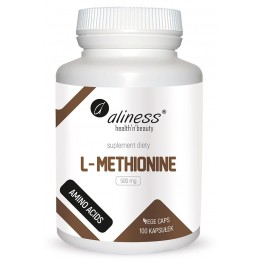 L-Methionine 500 mg 100 kaps.