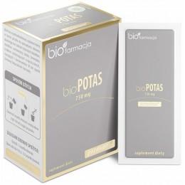 bio Potas premium 750mg 30 saszetek bioFarmacja cytrynian potasu