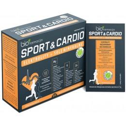 Sport & Cardio elektrolity sole mineralne węglowodany 14 saszetek bioFarmacja magnez potas cynk