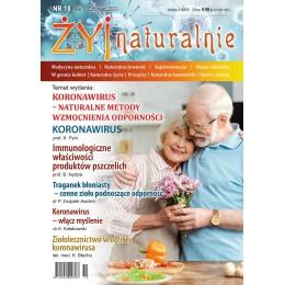 """Czasopismo """"Żyj Naturalnie"""" maj czerwiec 2020 numer 18"""
