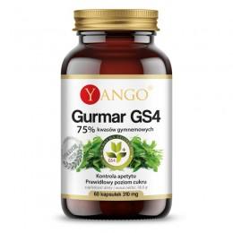 Gurmar GS4 75% kwasów gymnemowych 60 kapsułek Yango Gymnema sylvestre