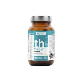 Thyrozin tarczyca Herballine 60 kaps. PharmoVit Brahmi  Lukrecja Żeń-szeń Jod Morszczyn