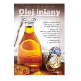 "Książka ""Olej lniany"" Iwan..."