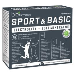 Sport & Basic 14 saszetek...