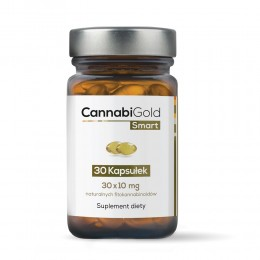 CannabiGold Smart 30 kapsułek (30 x 10 mg CBD)