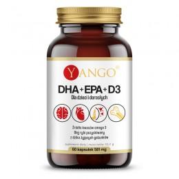 DHA + EPA + D3  60 kaps....