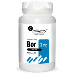 Bor 3 mg kwas borowy 100...