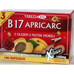 B17 Apricarc 180 szt B17 amigdalina letril tabletki pestki moreli reishi boczniak Suplement diety B17 Apricarc