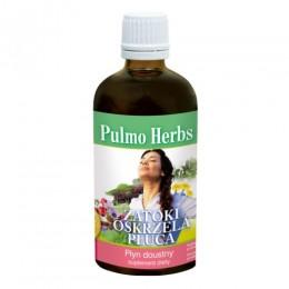 Pulmo Herbs 100 ml Zatoki Oskrzela Płuca