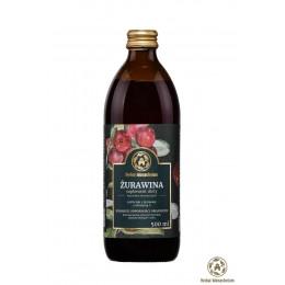 Naturalny sok z żurawiny 500ml  Herbal Monasterium