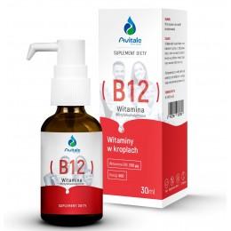 Avitale, Witamina B12 Metylokobalamina 200 µg 30 ml