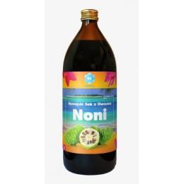 Noni sok 100% ekologiczny Hawajski sok z owoców NONI Morwa indyjska Morinda citrifolia 1000 ml