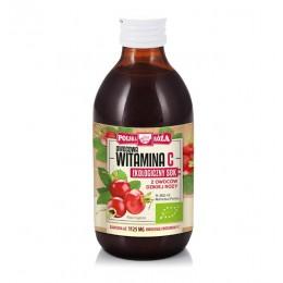 Ekologiczny sok z róży 250 ml