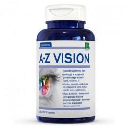 A-Z Vision 90 kapsułek ekstrakt z czarnej borówki aksamitki witamina C E A cynk żelazo