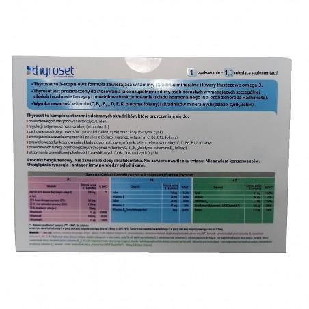 Thyroset 135 kapsułek Hashimoto antagonizmy kwasy Omega-3